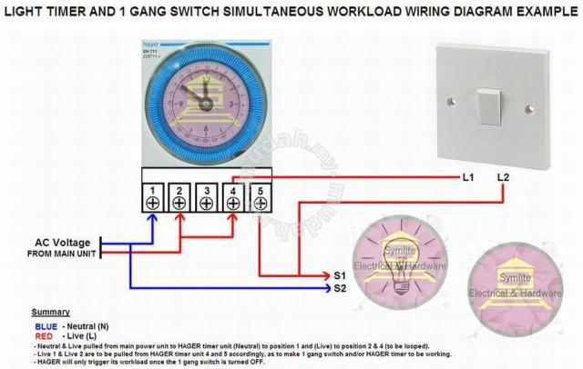 on hager light switch wiring diagram