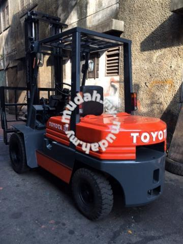 Japan Import TOYOTA 3 Ton Diesel Forklift 5FD30 - Commercial Vehicle &  Boats for sale in Jasin, Melaka
