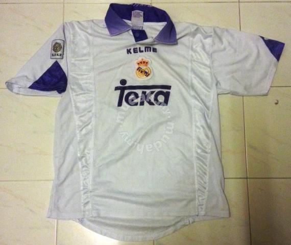 new concept 36b4f 8472a RARE Vintage Real Madrid Home Classic Jersey Kelme - Sports & Outdoors for  sale in Old Klang Road, Kuala Lumpur