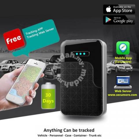 SECUMORE G200 30Days Real Time GPS Tracker - Car Accessories & Parts for  sale in Jelutong, Penang