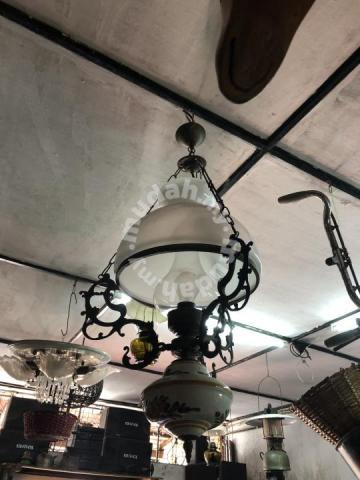 Antique Vintage Br Dutch Ceiling Hanging Lamp Hobby Collectibles For In City Centre Kuala Lumpur