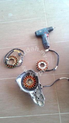 Stator Coil Kawasaki ER6, Er6f , Versys 650 - Motorcycle Accessories &  Parts for sale in Klang, Selangor
