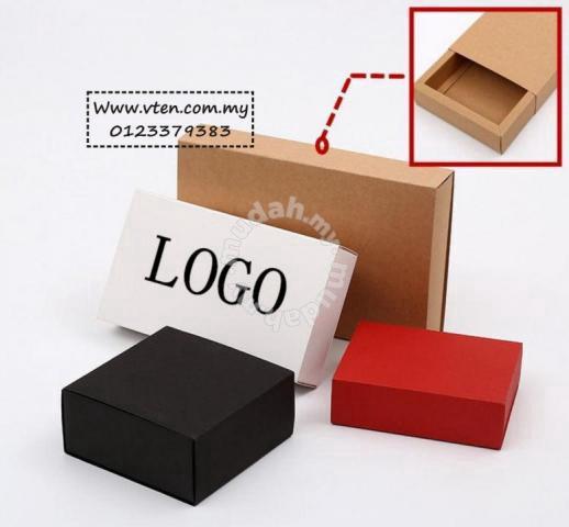 Drawer Gift Box Kraft Paper Box Home Present Home Appliances Kitchen For Sale In Bukit Mertajam Penang