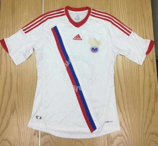54e065d3 Adidas Russia Football Home Jersey 2012-2013 Used - Sports ...