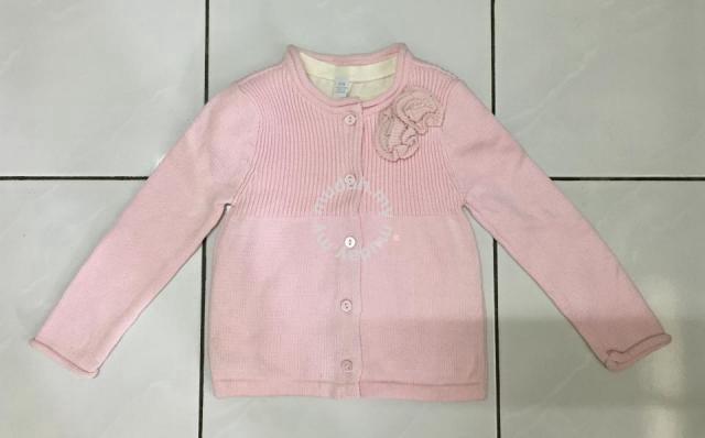 c4450434b6ab Baby girl pink sweater + shirt (FREE SHIPPING) - Moms   Kids for ...