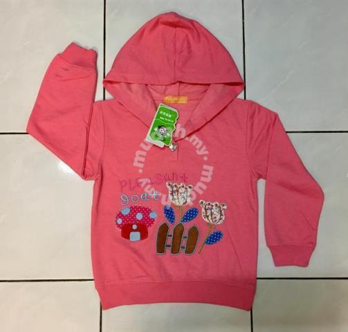 9c74f4a4e Baby girl pink jacket sweater with hood - Moms   Kids for sale in ...
