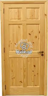 Pintu Solid Rumah Furniture