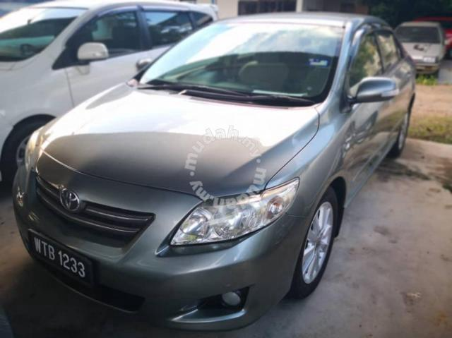 2009 Toyota Corolla For Sale >> 2009 Toyota Corolla 1 8 Altis E Sporty A Cars For Sale In Temerloh Pahang