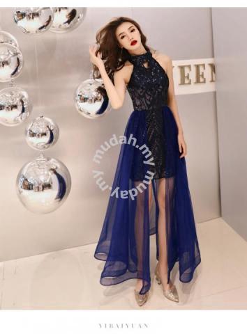 1c25c266388c Black blue cream sequin bodycon prom dress RBP0869 - Wedding for ...