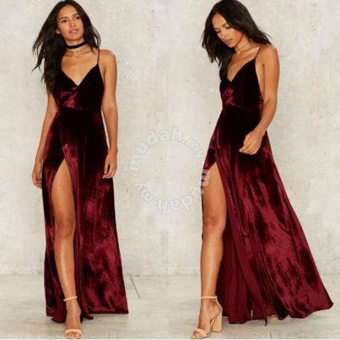 9d8d25c2e26 Red Prom Dinner Party Evening Dress RBP0202 - Clothes for sale in Johor  Bahru