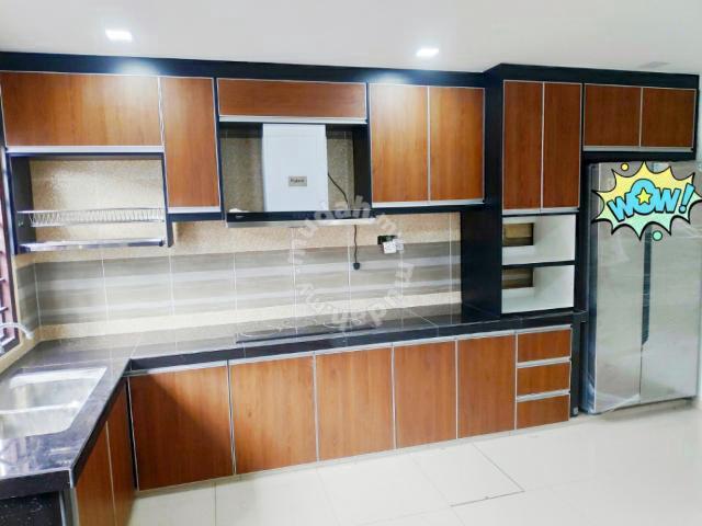 Kabinet Dapur Murah Klang Desainrumahid Com