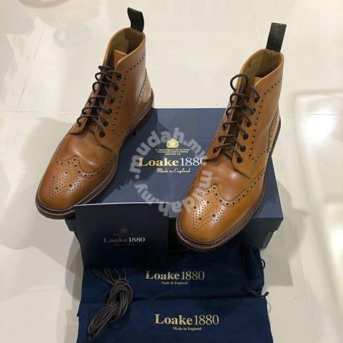 Loake Burford Men Dress Boot Made In
