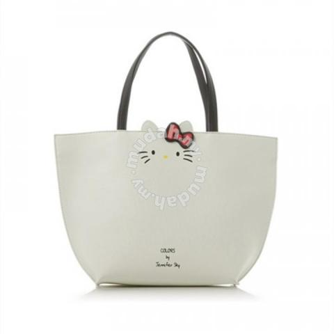 2118a91d1 Colors by jennifer sky hello kitty tote bag black - Bags & Wallets for ...