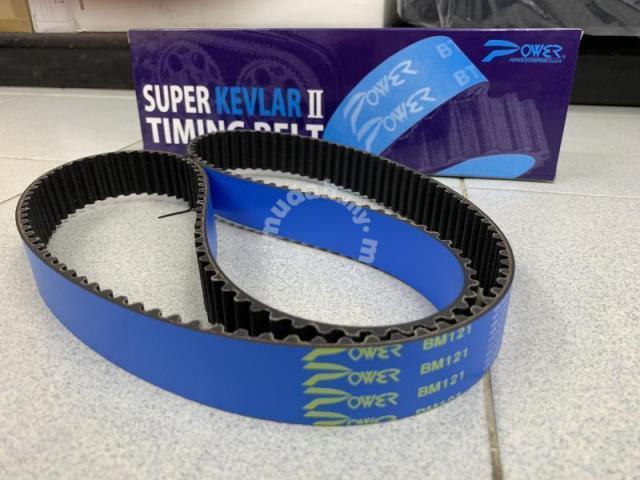 Power Kevlar II Timing Belt Evo 1-9 VR4 4G63 4G93 - Car Accessories & Parts  for sale in Bandar Sunway, Selangor