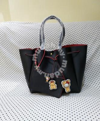 Colors By Jennifer Sky Hello Kitty Tote Bag Black Bags Wallets For In Johor Bahru