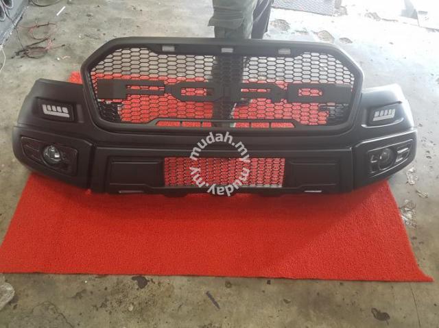 ford ranger raptor bumper grille grill bodykit car. Black Bedroom Furniture Sets. Home Design Ideas