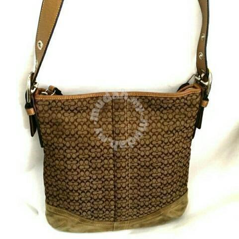 703fba8ce633 Coach Signature Jacquard Crossbody Bag - Bags   Wallets for sale in ...