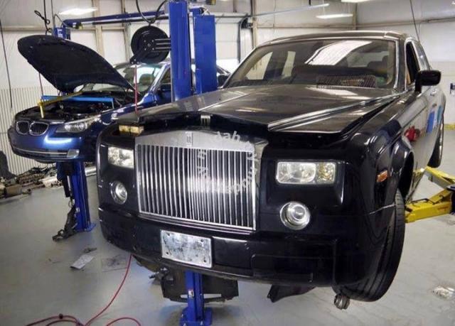 rolls royce absorber airmatic diagnostic repair - car accessories