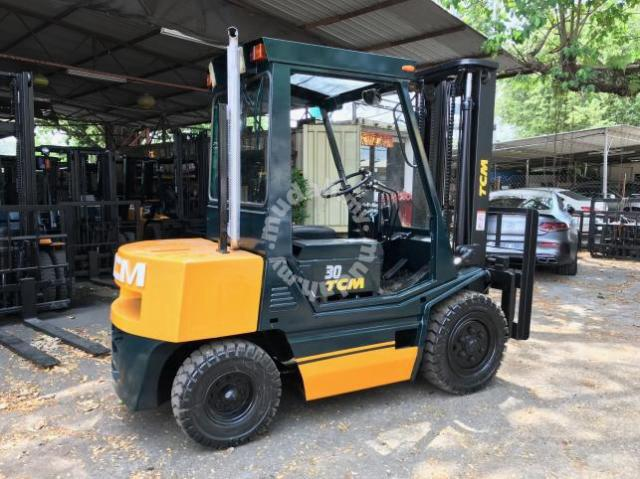 JAPAN Direct Imported TCM 3 ton DIESEL FORKLIFT - Commercial Vehicle &  Boats for sale in Klang, Selangor