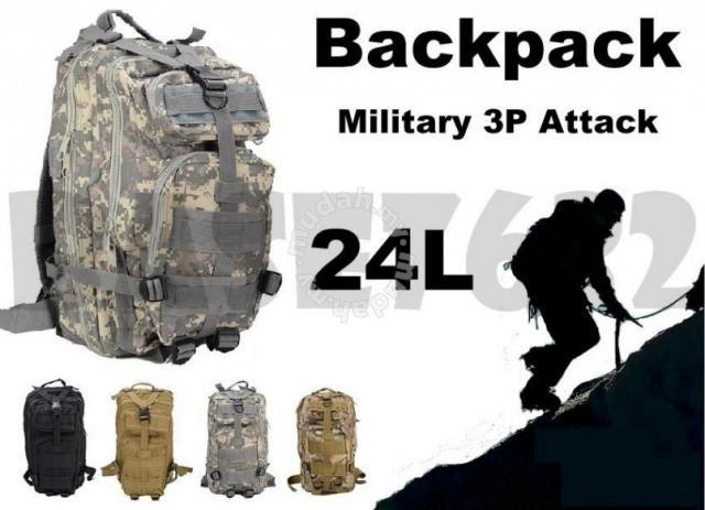 3cfca2dc72d2 Army Military 3P Attack Tactical Backpack 24L - Bags & Wallets for sale in  Muar, Johor