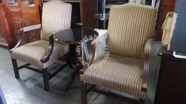 Drexel Heritage Wing Chair With Coffee Table Furniture Decoration For In Klang Selangor
