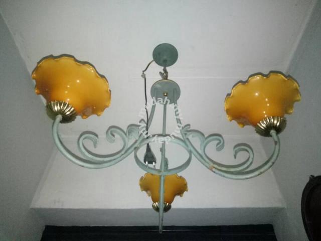 Lampu Siling Antik Retro Hobby Collectibles For Sale In Cheras Kuala Lumpur Mudah My