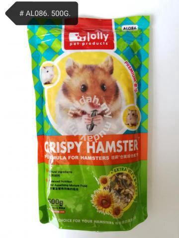Jolly Crispy Makanan Hamster Food Feed 500gram Pets For Sale In