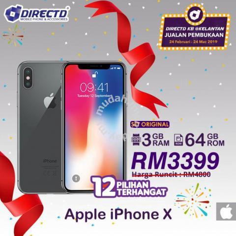 PROMOSI   Apple Iphone X ( 3GB RAM  9e08fdbd45