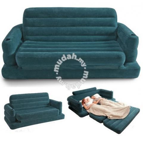 INTEX Inflatable Pull Out Sofa Bed Air Bed Seat