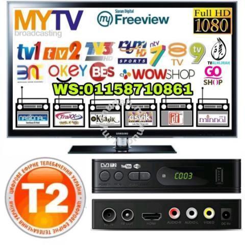 Mytv Dekoder DVB-T2 Siaran Percuma - TV/Audio/Video for sale in Tumpat,  Kelantan