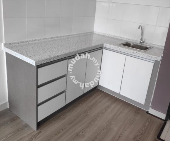 Kabinet Dapur Simple Murah Kapar Klang Shah Alam Home Appliances Kitchen For Sale In Kapar Selangor Mudah My