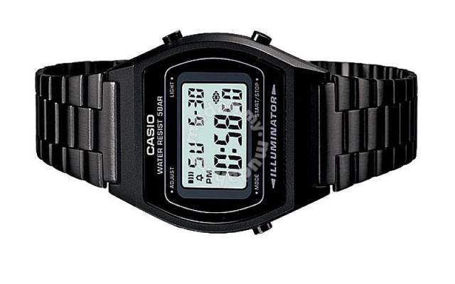 337a223df Casio Men Digital Black Vintage Watch B640WB-1ADF - Watches ...