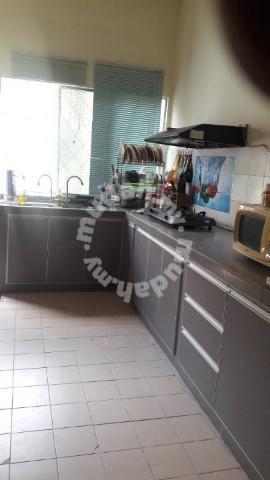 Kabinet Dapur Meru Simple Murah Home Liances Kitchen For In Kapar Selangor