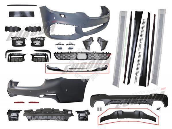 Bmw 5 series G30 m-sport conversion set - Car Accessories & Parts for sale  in Setapak, Kuala Lumpur