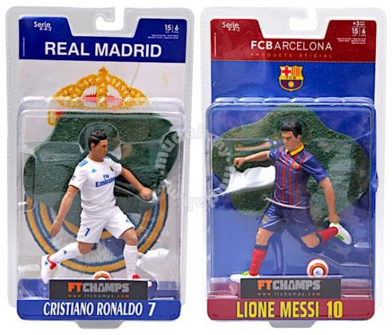 Lionel Messi F.C Barcelona Soccer Team Collectible Figurine