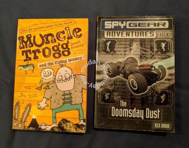 English children books Muncle Trogg Spy Gear