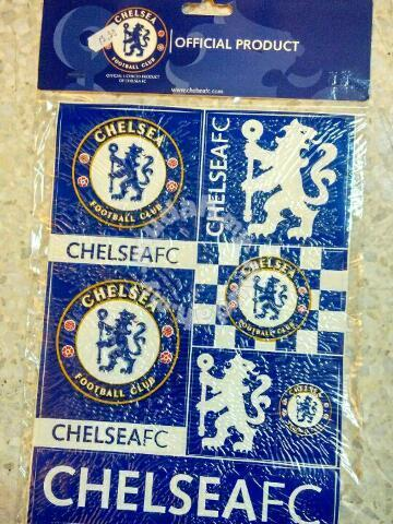 Chelsea Fc Sticker Logo Design Original Hobby Collectibles For Sale In Taman Desa Kuala Lumpur