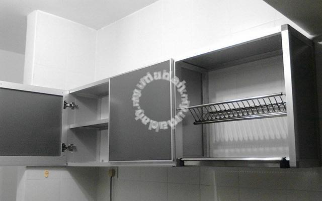 Diy Aluminium Kitchen Hanging Cabinet Wall Unit Furniture Decoration For In Erworth Penang