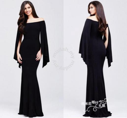 Black Red Dinner Party Prom Wedding Dress Rbp0234 Clothes For Sale In Johor Bahru Johor Mudah My