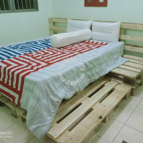 Katil Sofa Kayu Pallet 24jam Open Furniture Decoration For In Sentul Kuala Lumpur