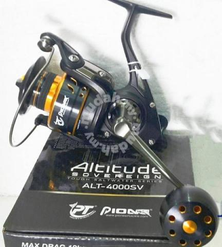 PIONEER ALTITUDE SOVEREIGN 4000~8000 Fishing Reel - Sports & Outdoors for  sale in Taiping, Perak