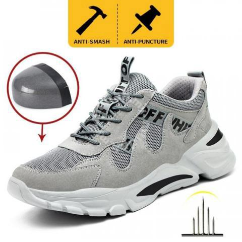 Kasut Safety Lightweight Breathable Safety Boots 4