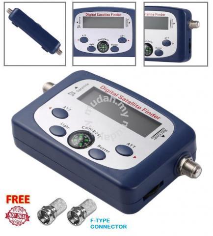 Digital Satellite Finder Signal Meter - Sports & Outdoors for sale in Johor  Bahru, Johor