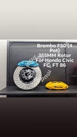 Brembo F50 4pot (Honda Civic FB FC FD, FT86 )