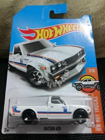Hotwheels Datsun 620 White Not Tomica Hobby Collectibles For