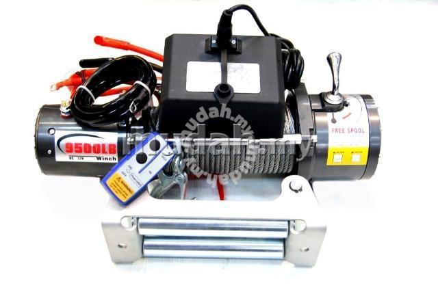 Dd 9500lbs 12v volt electric winch wireless remote - Car Accessories &  Parts for sale in Puchong, Selangor