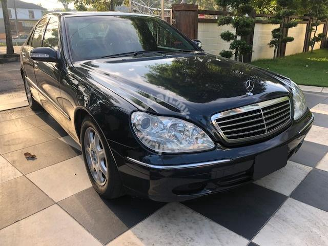 2001 06 Mercedes Benz S320 L Cbu 3 2 A Luxury Car Cars For In Erworth Penang
