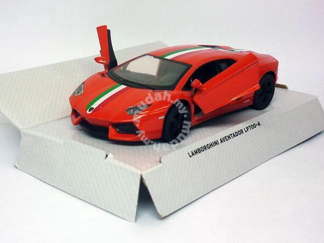 Diecast Lamborghini Aventador Lp700 4 Orange Hobby