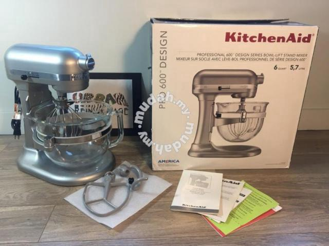 Kitchen Aid Professional 600 Design Series 6 Qt Gl Home Appliances