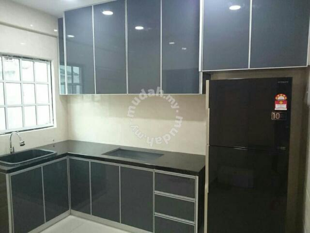 Table Top Tile Kabinet Dapur Paiping Sinki Furniture Decoration For In Melaka Tengah